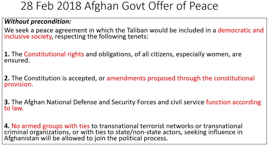 2018 Afg govt offer